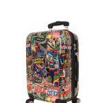 Marvel Comic luggage