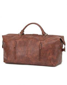 Vegan Leather Duffel Bag