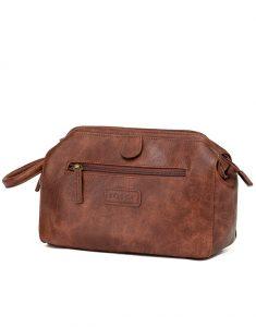 Vegan Leather washbag