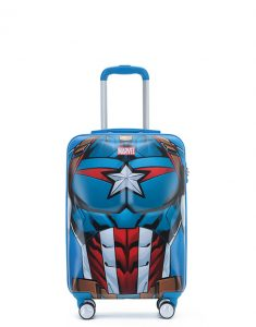 Captain America carry on suitcase