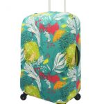 Flower Luggage Cover
