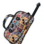 Disney Comic Wheel Bag